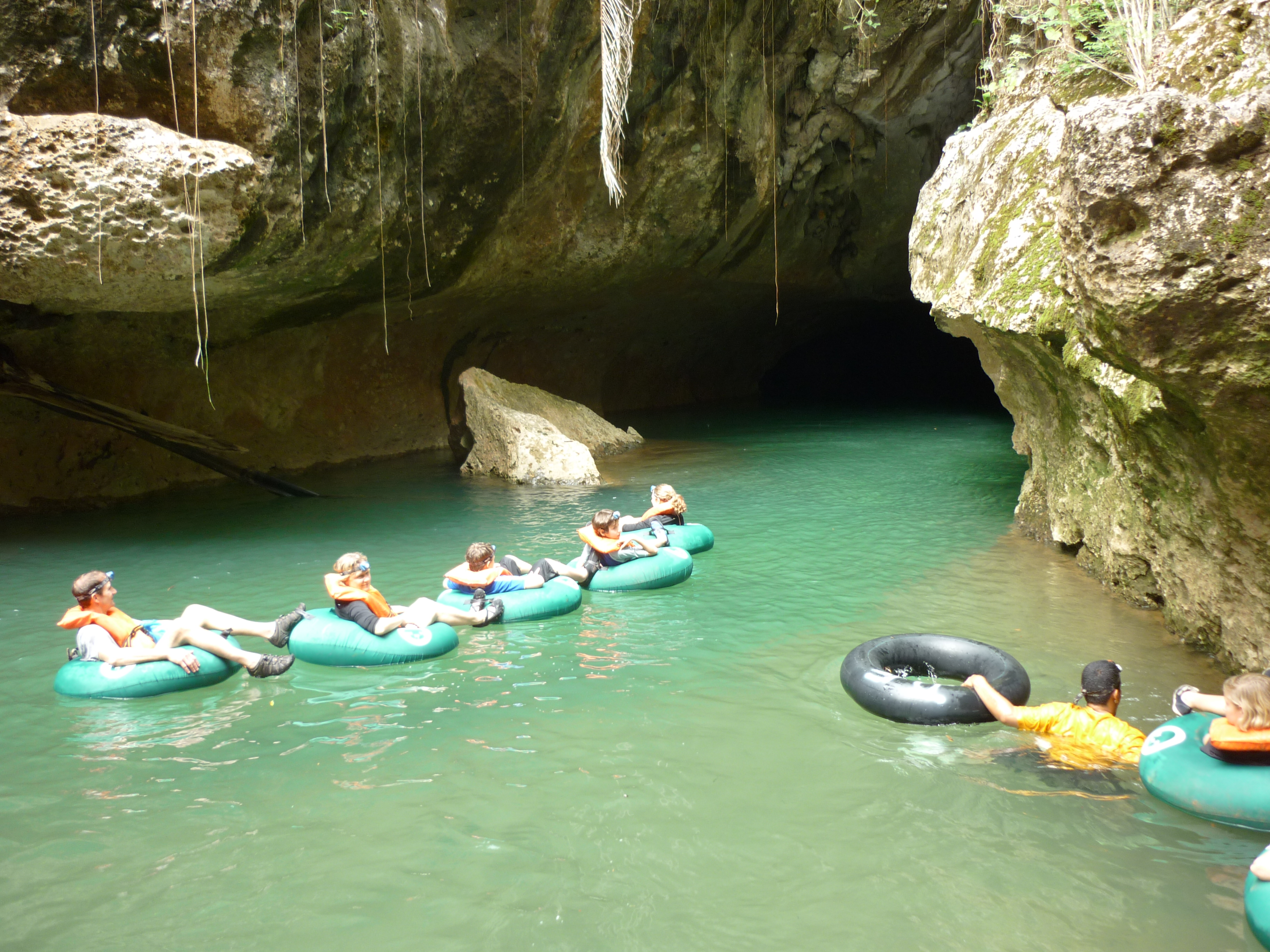 CAVE TUBING 2