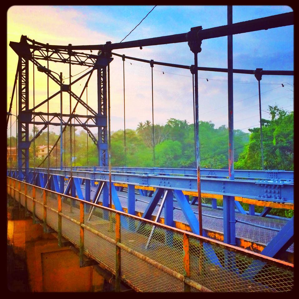 The Iconic Hawksworth Bridge in San Ignacio Town Belize