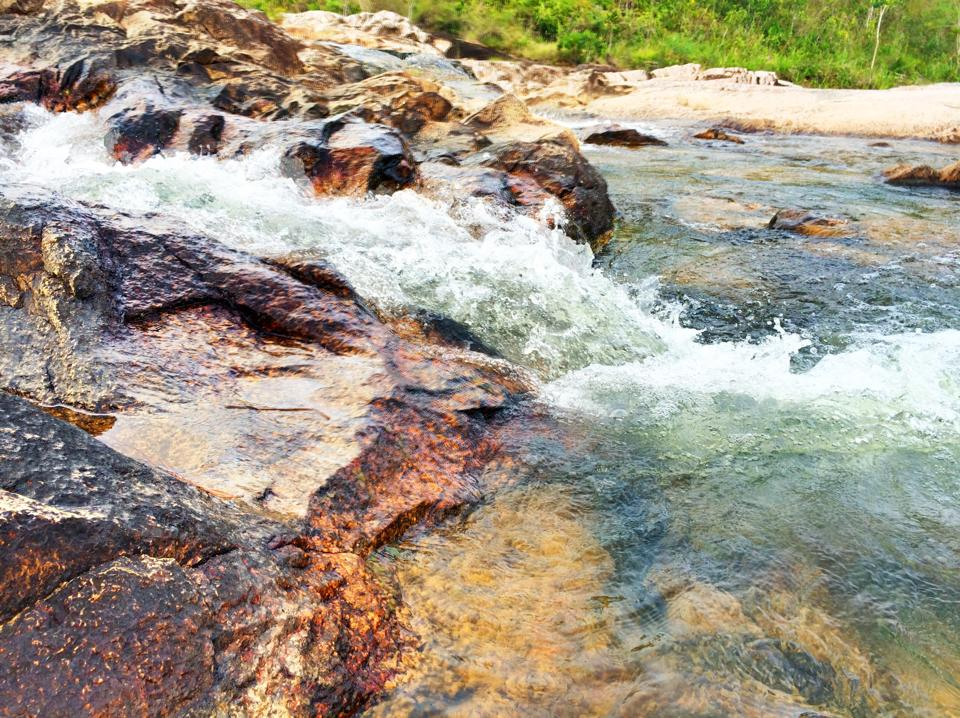 rio on pools on the mountain pine ridge belize