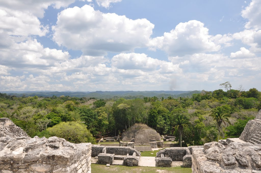 best maya site to visit in belize caracol maya ruins