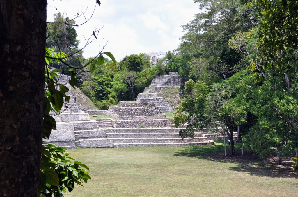 caracol maya ruins of belize central america