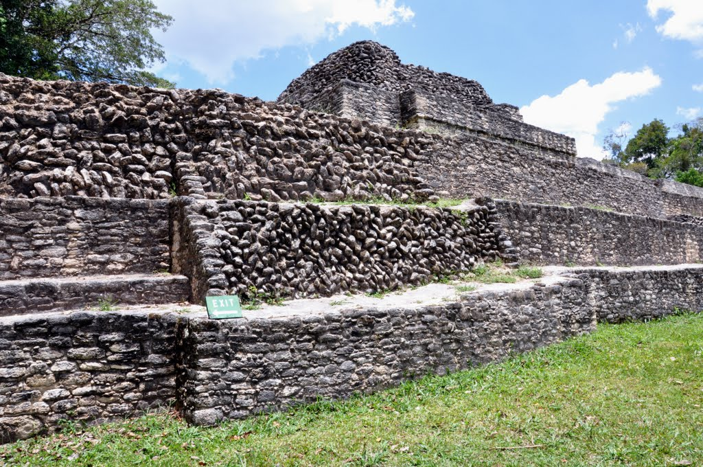 caracol maya ruins of belize