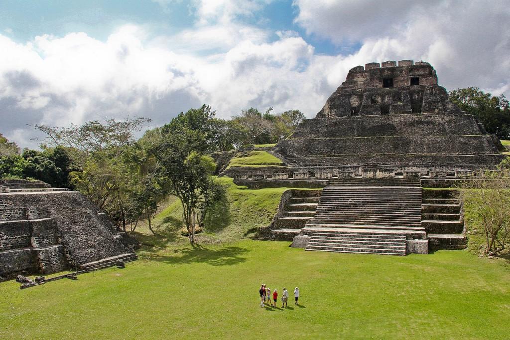 xunantunich maya ruins in san ignacio belize
