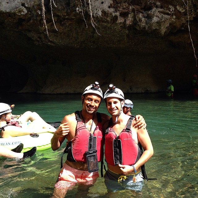 cave tubing in belize vacation photos