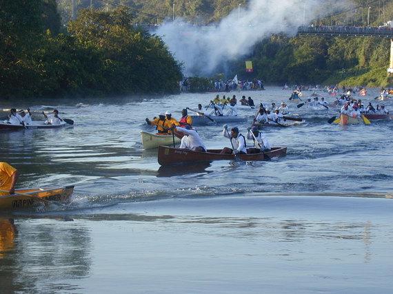 la ruta maya race in belize