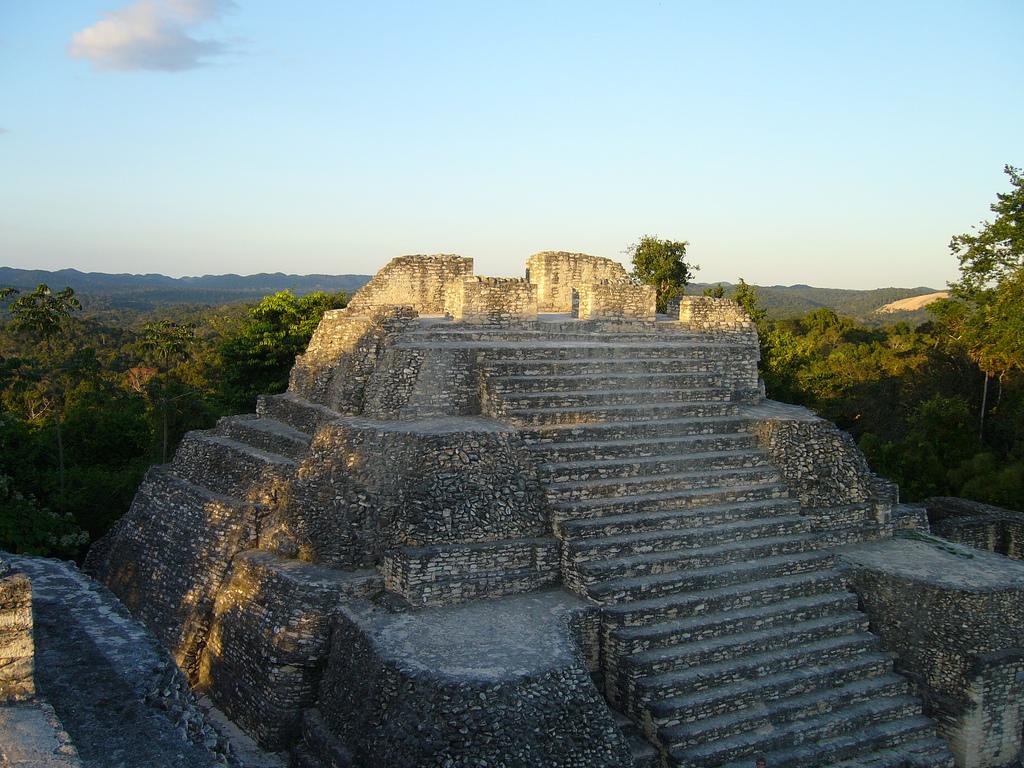 Caracol Mayan Ruins in Belize