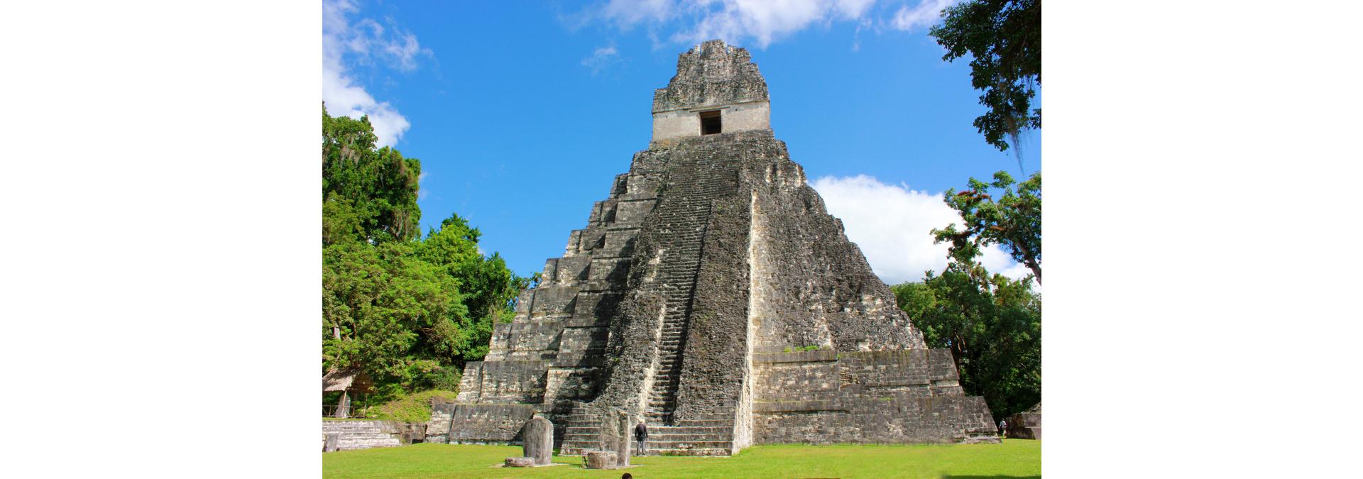 tikal maya ruins tour from belize