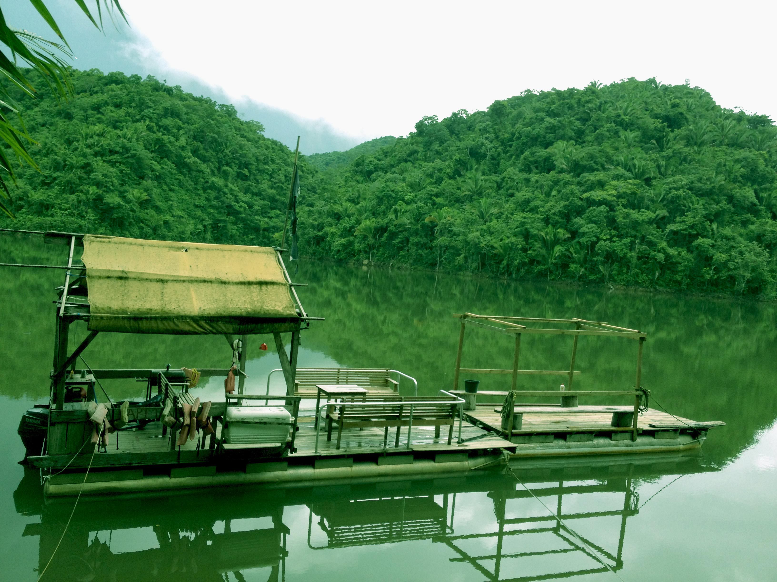 belize nature tours pontoon