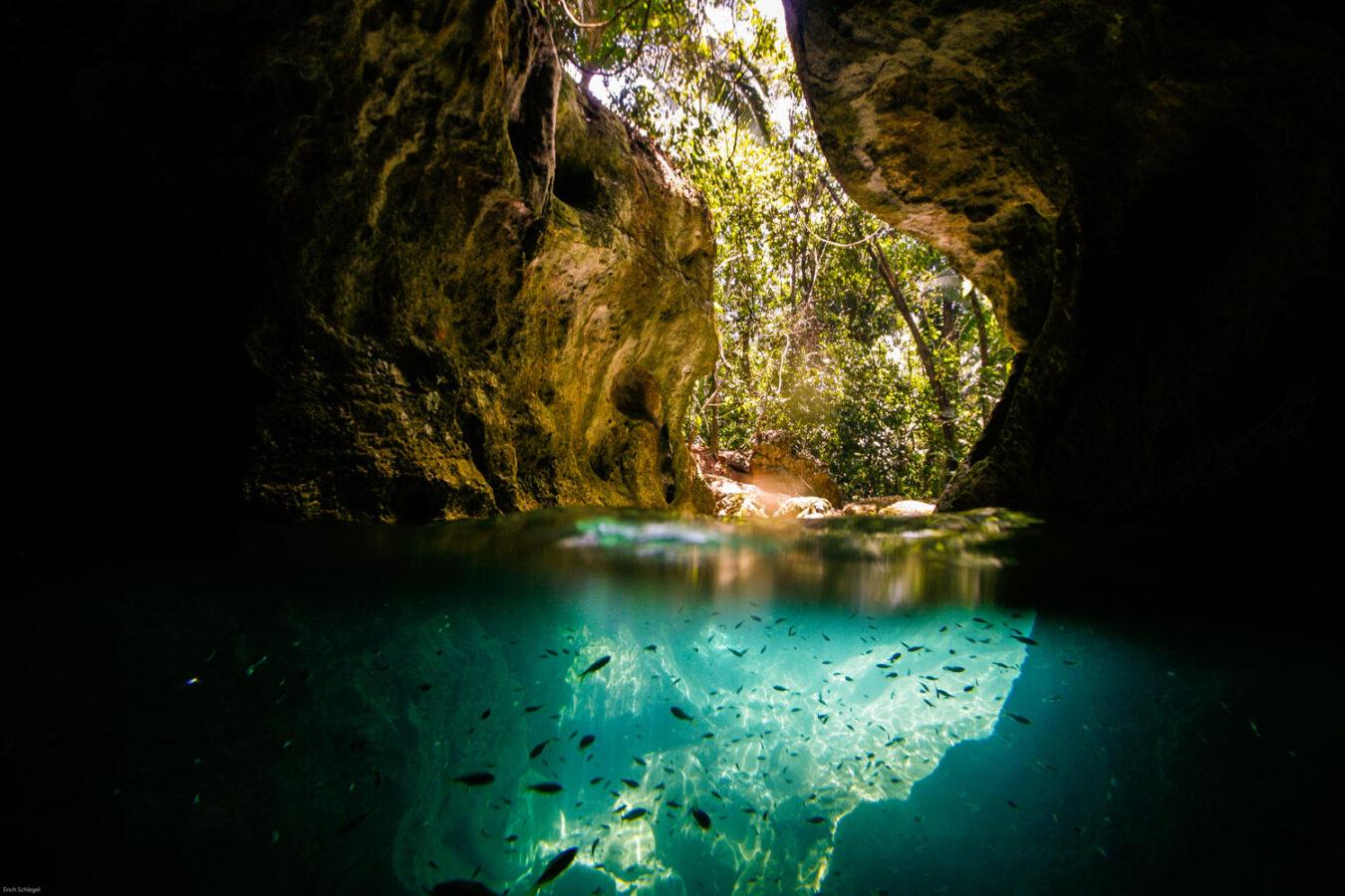 ATM Belize Cave