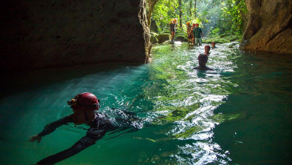 ATM Cave Expedition Tour Belize
