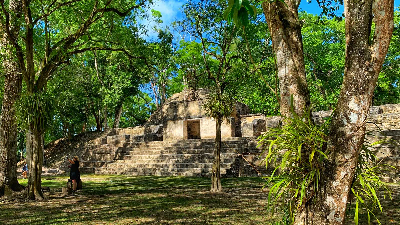 Cahal Pech Maya ruin