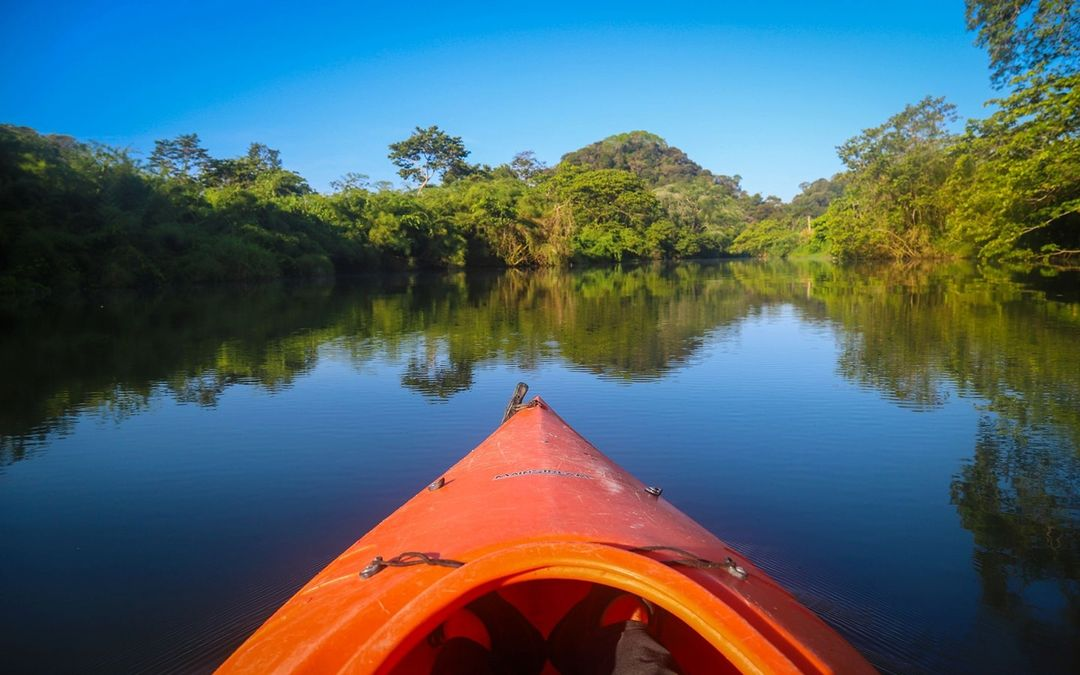Canoeing on the Macal River