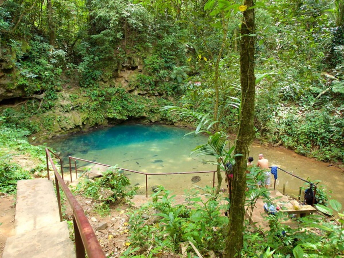 Discover St. Herman's Blue Hole National Park On Your Belize Vacation
