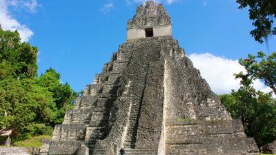 tikal maya ruins in guatemala