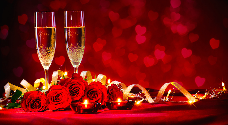 Make your Valentines Day perfect with a romantic dinner at Cahal Pech Village Resort