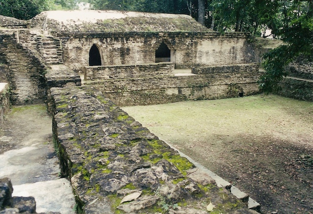 Ancient Maya Tomb in Belize