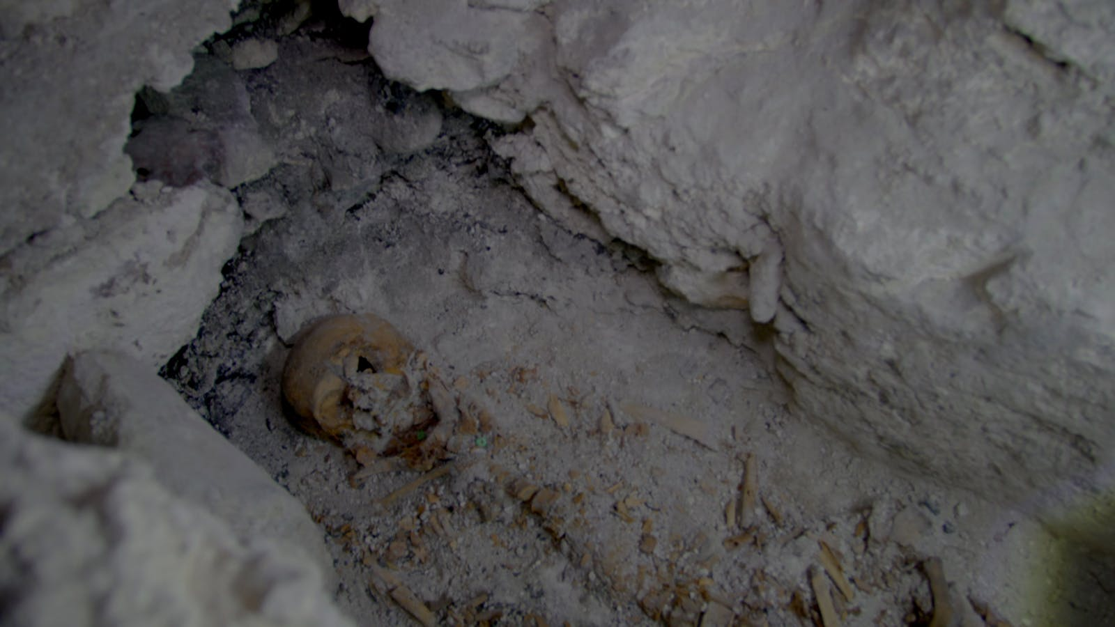 maya tomb discovered in belize