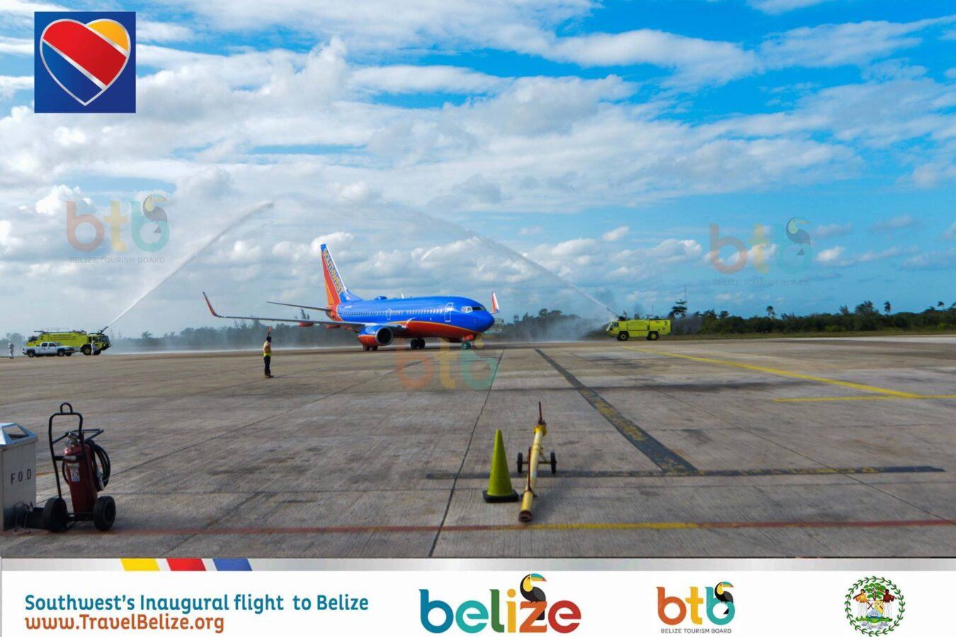 Southwest Airlines launches new nonstop flights to Belize