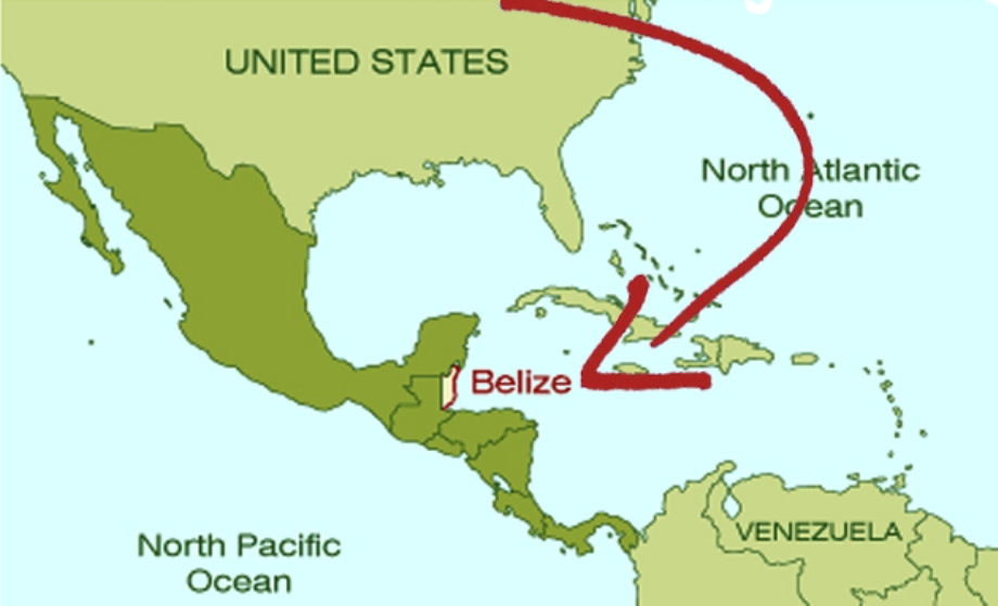 Belize On A Map Where is Belize Located? | Belize Location & Geography